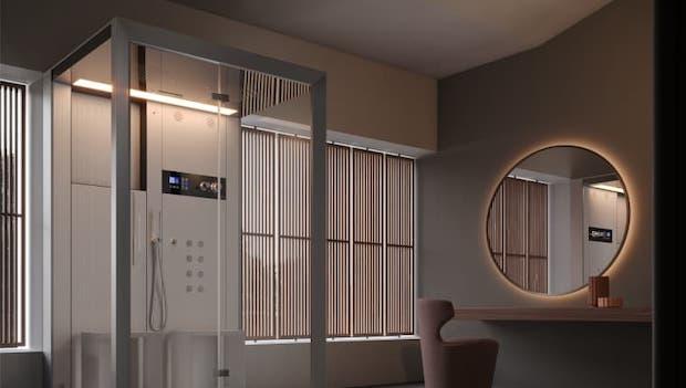 Hydromassage shower Jacuzzi Frame IN2 - Photo: Jacuzzi